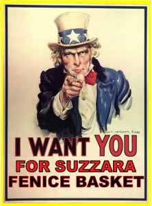 I want you for Suzzara Basket
