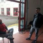 Gabana a colloquio con Sergio Franzini.
