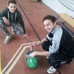 Marco Palvarini e Jordan Mora pronti per la colorazione.